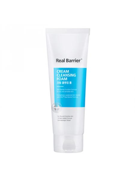 Кремовая пенка с нейтральным pH Real Barrier Cream Cleansing Foam