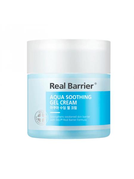 Ламеллярный успокаивающий крем-гель Real Barrier Aqua Soothing Gel Cream