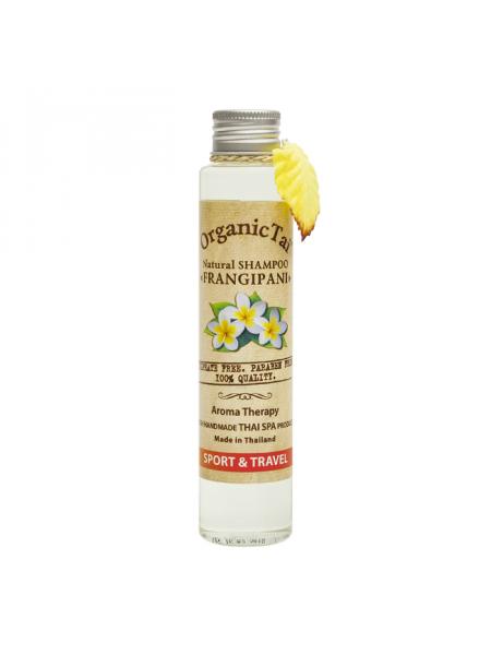Безсульфатный шампунь для волос с маслом франжипани Natural Shampoo Frangipani, 100 мл