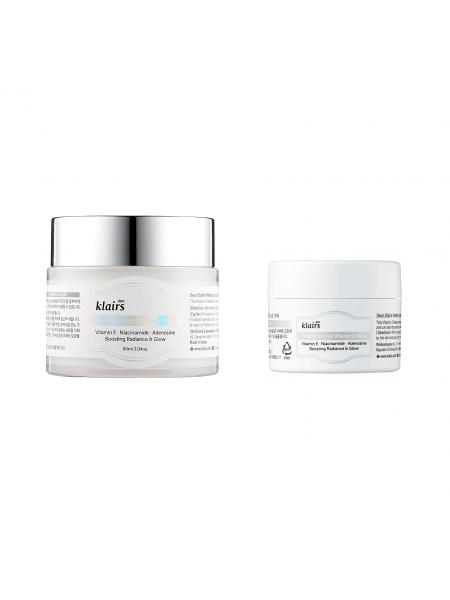 Витаминная ночная маска для сияния кожи Dear, Klairs Freshly Juiced Vitamin E Mask