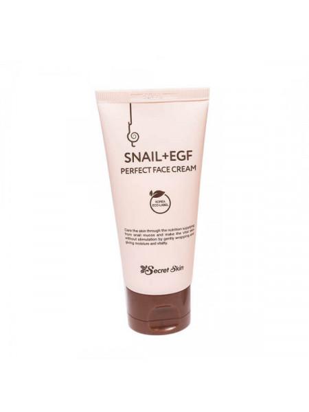 Крем для лица с муцином улитки Secret Skin Snail + EGF Perfect Face Cream