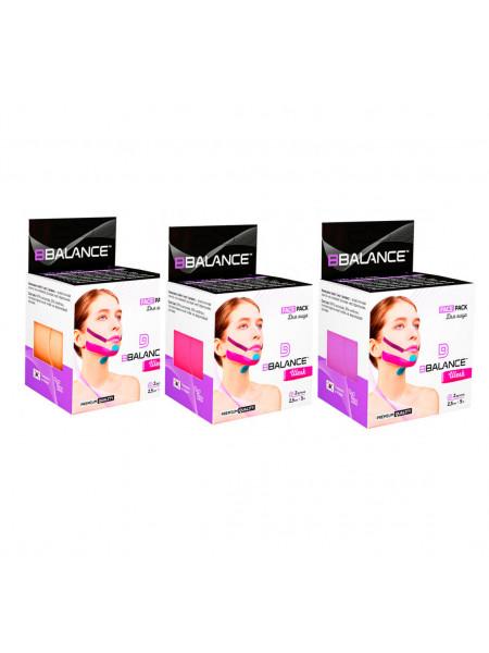 Кинезио тейп для лица из шёлка BB Face Tape™ 2,5 см*5 м