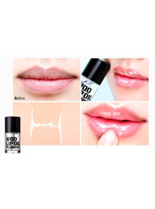 Блеск для губ с эффектом объёма So'Natural Woo Lip Oil Plumper