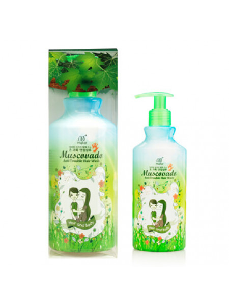 Органический шампунь для волос [M-Star] Muscovado Anti Trouble Hair Wash