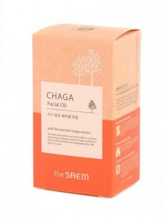 Антивозрастное масло для лица The Saem Chaga Facial Oil