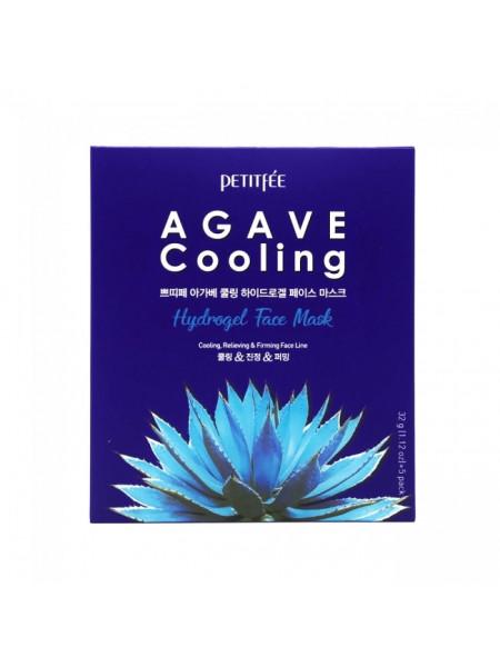 Набор гидрогелевых масок для лица с экстрактом агавы Agave Cooling Hydrogel Face Mask 5pcs