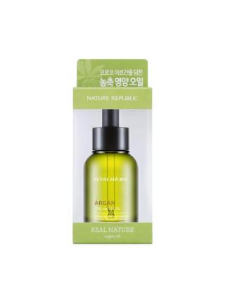Ампульная эссенция с маслом арганы и винограда Nature Republic Real Nature Argan Oil