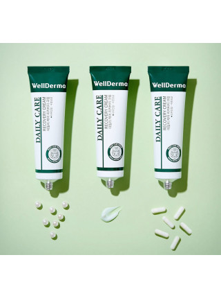 Восстанавливающий крем для чувствительной кожи с центеллой WellDerma Daily Care Recovery Cream
