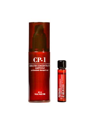 Концентрированная кератиновая эссенция для волос Esthetic House CP-1 Keratin Concentrate Ampoule — 10 мл