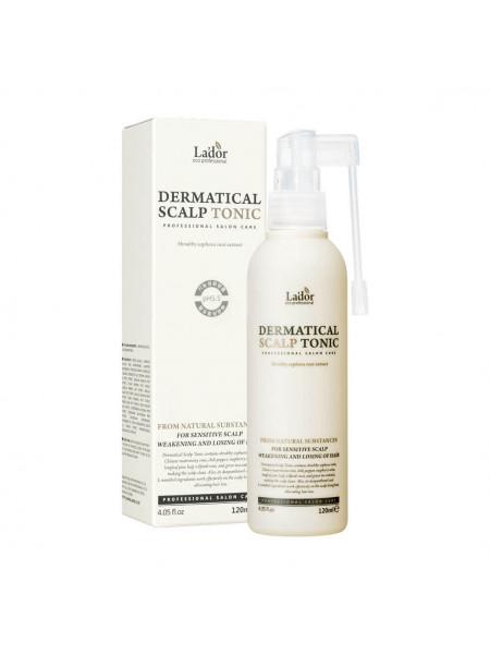 Тоник для кожи головы против выпадения волос Lador Dermatical Scalp Tonic