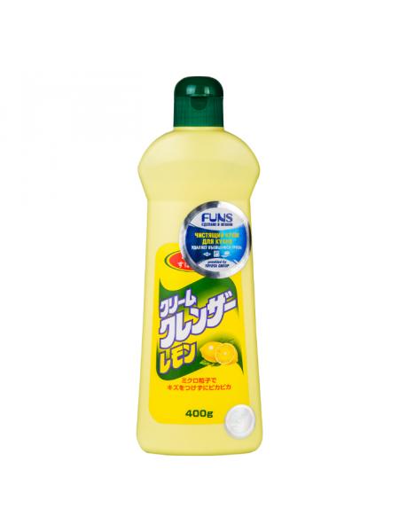 Чистящий крем для кухни и посуды с ароматом лимона