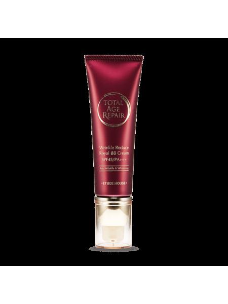 ВВ-крем для зрелой кожи Etude House Total Age Repair Wrinkle Reduce Royal BB Cream SPF 45 PA+++