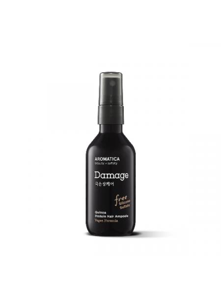 Сыворотка-спрей для поврежденных волос c пептидами Aromatica Quinoa Protein Hair Ampoule