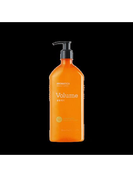 Бессульфатный шампунь для объёма волос с лемонграссом AROMATICA Lemongrass Volumizing Shampoo
