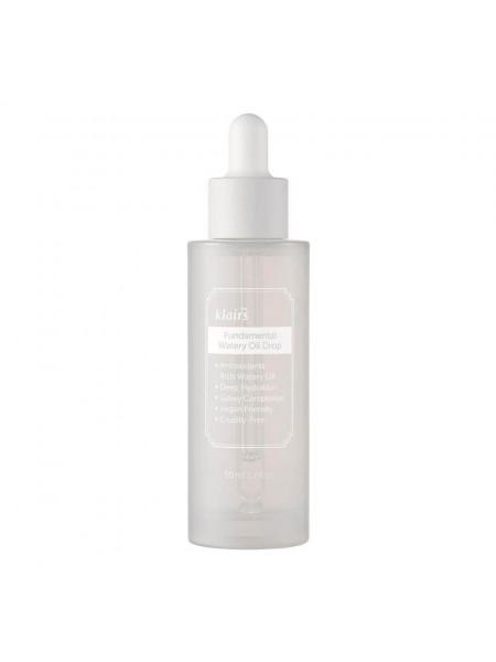 Антиоксидантная сыворотка для сияния кожи Dear, Klairs Fundamental Watery Oil Drop