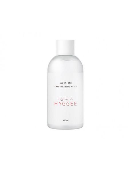 Мягкое средство для снятия макияжа с нейтральным pH HYGGEE All-In-One Care Cleansing Water