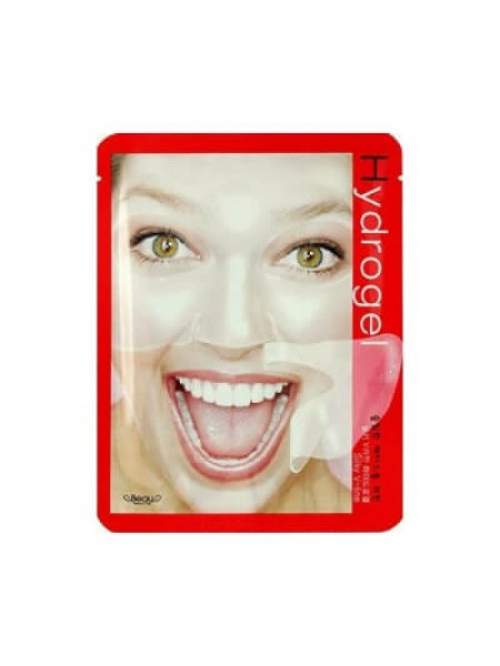 Гидрогелевая маска для подтяжки контуров лица Beauugreen Silky V-Line Hydrogel Mask