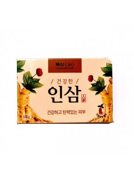 Мыло для тела с женьшенем Clio Ginseng Soap