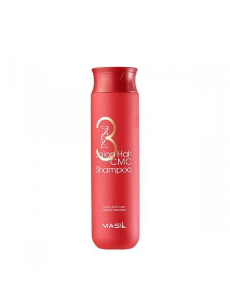 Восстанавливающий профессиональный шампунь с керамидами Masil 3 Salon Hair CMC Shampoo 300 мл.