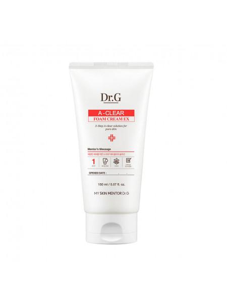 Очищающая пенка-крем для проблемной кожи Dr.G A-Clear Foam Cream EX