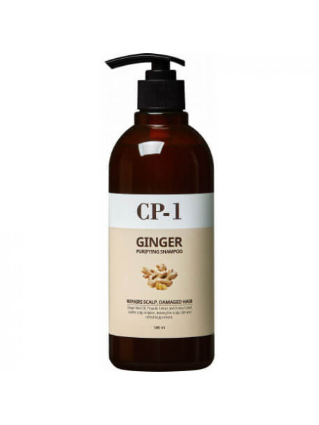 Восстанавливающий шампунь для волос с корнем имбиря CP-1 Ginger Purifying Shampoo