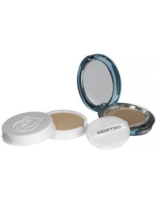 Пудра для светлой кожи со сменным блоком Enough Collagen Whitening Moisture Two Way Cake SPF30 PA+++