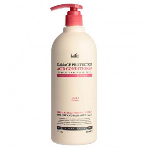Защитный кондиционер для поврежденных волос Lador Damage Protector Acid Conditioner 900 мл