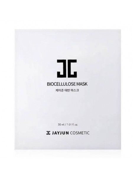 Биоцеллюлозная маска с плацентой для упругости кожи Jayjun Cosmetic Biocellulose Mask