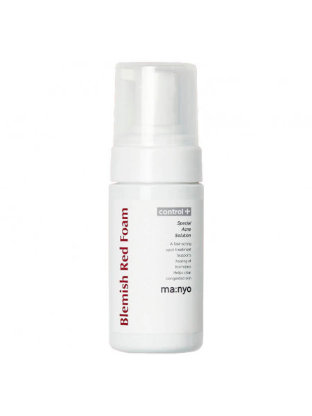 Кислородная пенка для проблемной кожи Manyo Blemish Red Foam