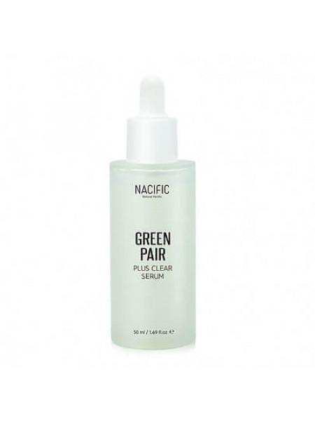 Успокаивающая сыворотка для проблемной и чувствительной кожи NACIFIC Greenpair Plus Clear Serum
