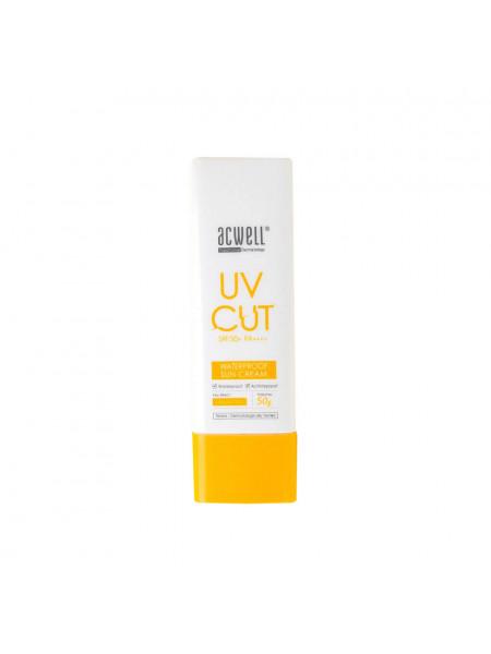 Водостойкий солнцезащитный крем Acwell UV Cut Waterproof Sun Cream SPF50+PA+++
