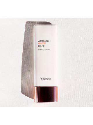 База под макияж с эффектом сияния Heimish Artless Glow Base SPF50+/PA+++