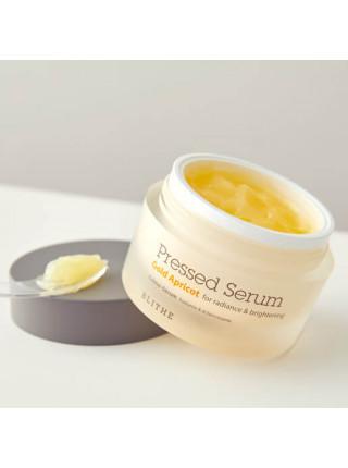Спрессованый крем-серум с экстрактом абрикоса для сияния кожи Blithe Pressed Serum Gold Apricot