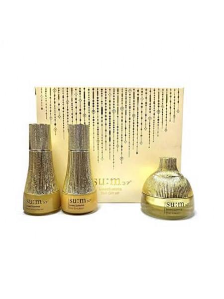 Набор питательных средств для ухода за зрелой кожей SU:M37 Losec Summa Elixir 3 Gift Set