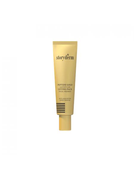 Золотая лифтинг-маска с пептидами Storyderm Peptide Gold Lifting Pack
