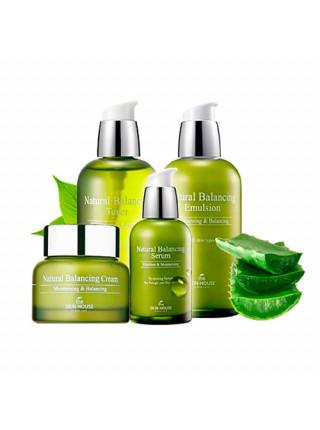 Балансирующий тонер для увлажнения кожи The Skin House Natural Balancing Toner