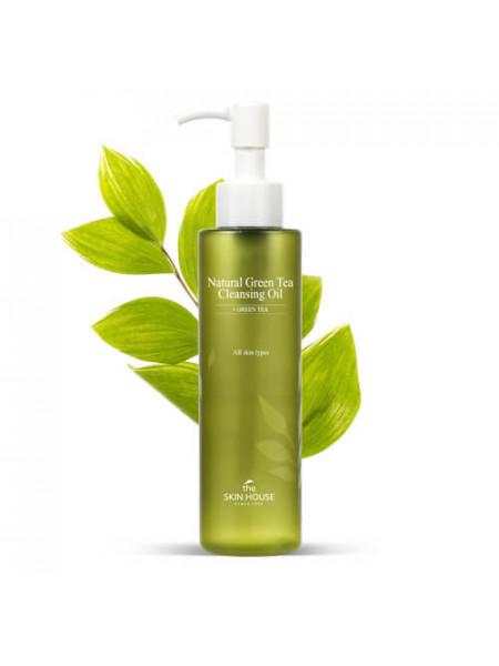 Гидрофильное масло с зелёным чаем The Skin House Natural Green Tea Cleansing Oil