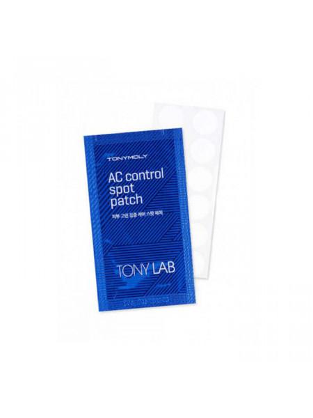 Антибактериальные наклейки от прыщей Tony Moly AC Control Spot Patch