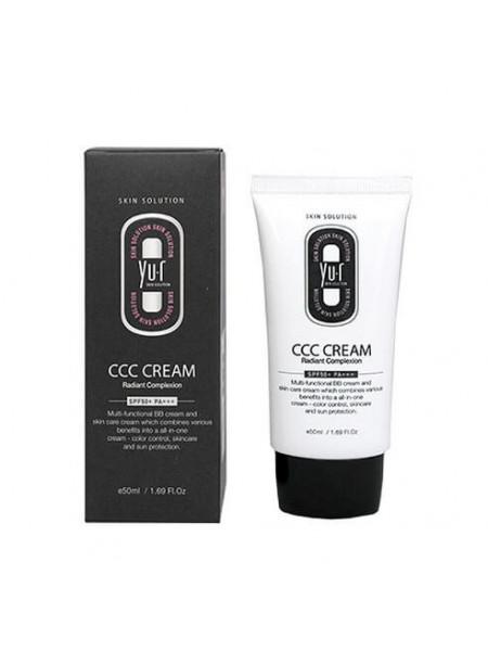 Многофункциональное тональное средство Yu.r CCC Cream Radiant Complexion SPF50+