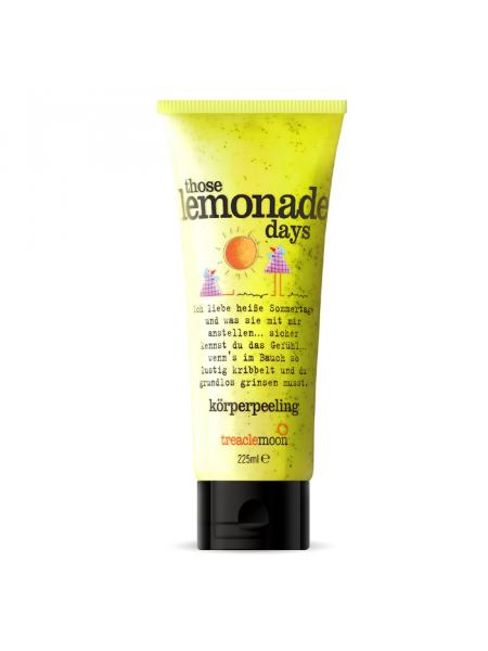 Скрабдлятела Those Lemonade Days Body Scrub, домашний лимонад