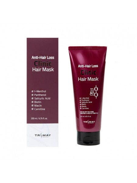 Пептидная маска против выпадения волос Trimay Anti Hair Loss Clinic Hair Mask