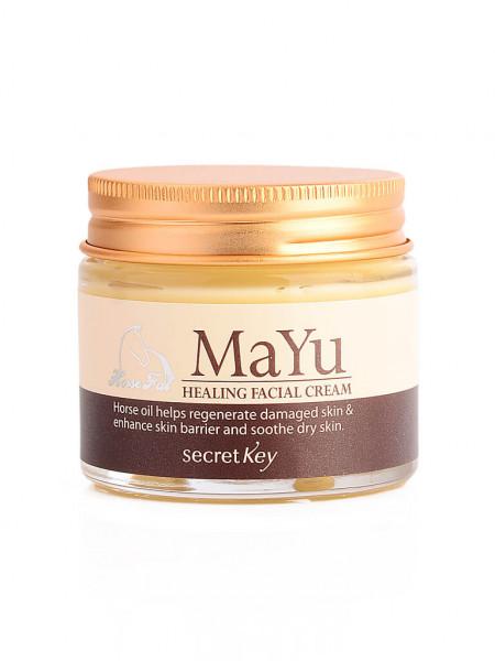 Secret Key Mayu Healing Facial Cream лечебный крем для лица