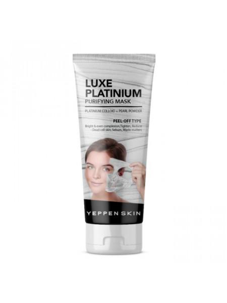 Маска-пленка, выравнивающая тон с коллоидной платиной Luxe Platinium Purifying Mask -Peel-off Type
