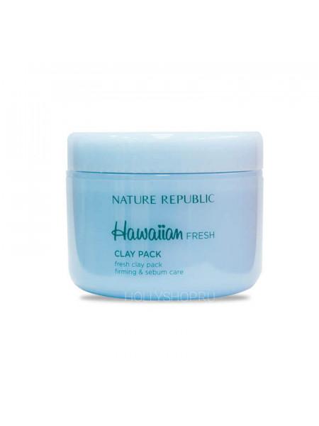 Глиняная маска для проблемной кожи Nature Republic Hawaiian Fresh Clay Pack