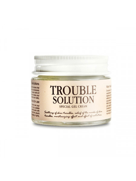 Лечебный гель-крем против акне Graymelin Trouble Solution Special Gel Cream