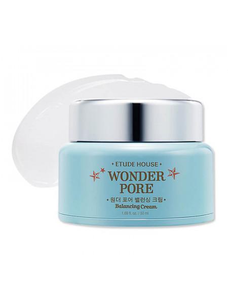 Матирующий крем для сужения пор Etude House Wonder Pore Balancing Cream