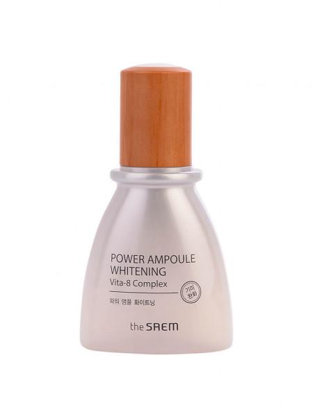 Ампульная эссенция для лица с эффектом сияния The Saem Power Ampoule Whitening