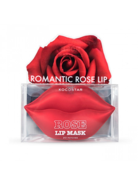 Гидрогелевые патчи для губ с экстрактом лепестков розы