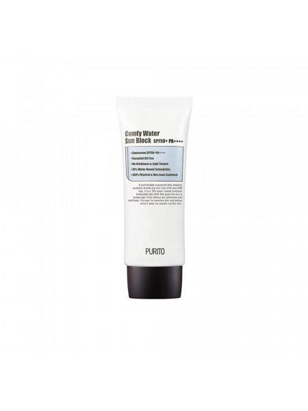 Солнцезащитный крем на водной основе Purito Comfy Water Sun Block SPF50+PA++++