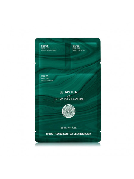 Детокс-набор для ревитализации кожи Jayjun Cosmetic More Than Green-Tox Cleanse Mask